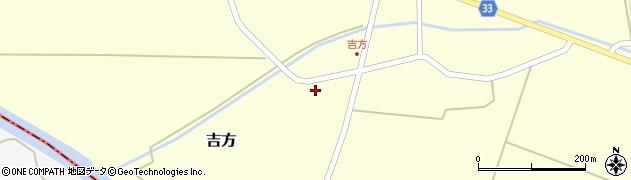 山形県東田川郡庄内町吉方稗田61周辺の地図