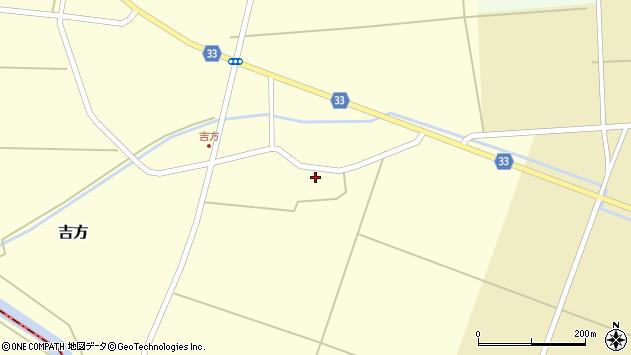 山形県東田川郡庄内町吉方主計田21周辺の地図