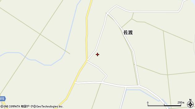 山形県最上郡鮭川村佐渡942周辺の地図