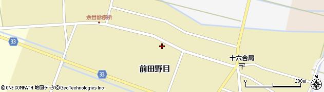 山形県東田川郡庄内町前田野目前割99周辺の地図