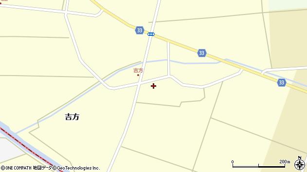 山形県東田川郡庄内町吉方主計田34周辺の地図