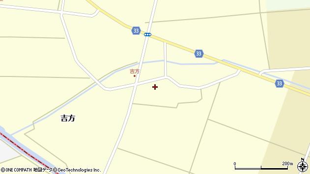山形県東田川郡庄内町吉方主計田33周辺の地図