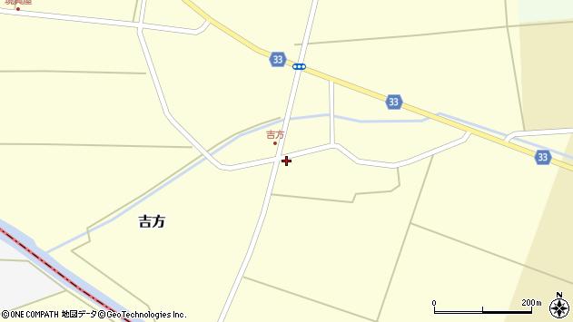山形県東田川郡庄内町吉方主計田40周辺の地図
