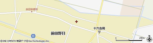 山形県東田川郡庄内町前田野目田割37周辺の地図
