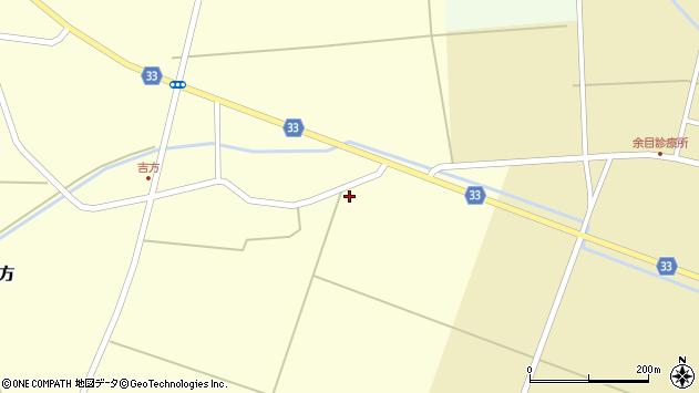 山形県東田川郡庄内町吉方道上32周辺の地図