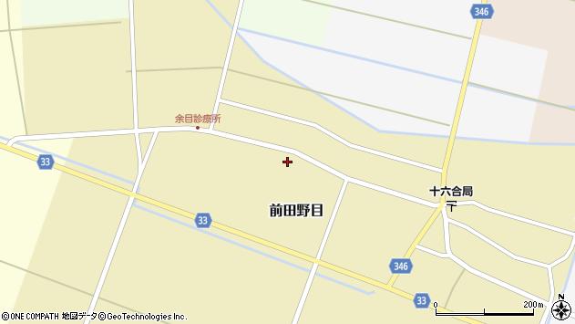 山形県東田川郡庄内町前田野目前割91周辺の地図