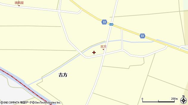 山形県東田川郡庄内町吉方小縄周辺の地図
