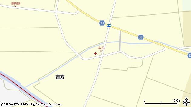 山形県東田川郡庄内町吉方小縄12周辺の地図