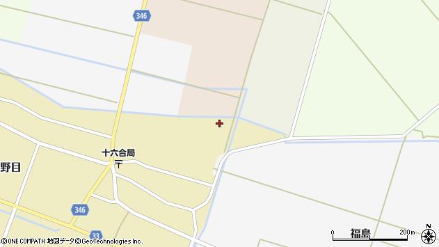 山形県東田川郡庄内町主殿新田中割54周辺の地図