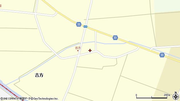 山形県東田川郡庄内町吉方東野45周辺の地図