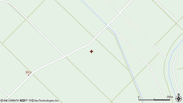 山形県東田川郡庄内町狩川砂山外6周辺の地図