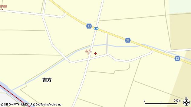 山形県東田川郡庄内町吉方小縄4周辺の地図
