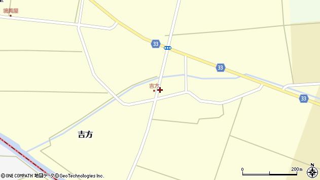 山形県東田川郡庄内町吉方小縄9周辺の地図