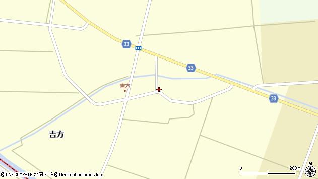 山形県東田川郡庄内町吉方東野43周辺の地図