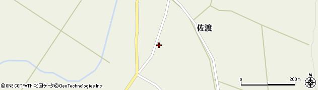 山形県最上郡鮭川村佐渡899周辺の地図