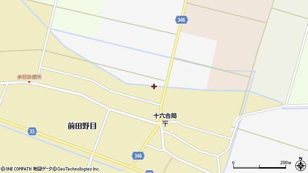 山形県東田川郡庄内町南野新田ユミ縄周辺の地図