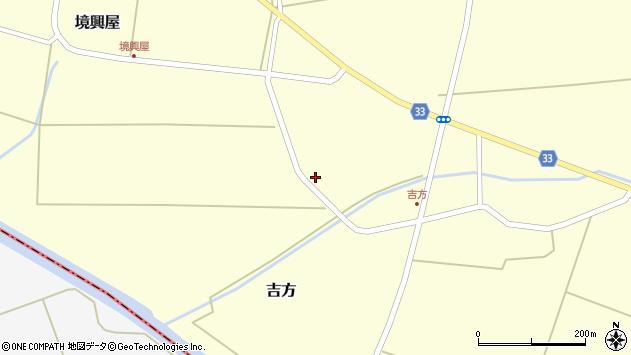 山形県東田川郡庄内町吉方四十間19周辺の地図