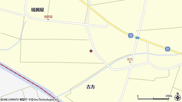 山形県東田川郡庄内町吉方四十間52周辺の地図