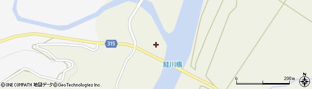 山形県最上郡鮭川村佐渡1747周辺の地図