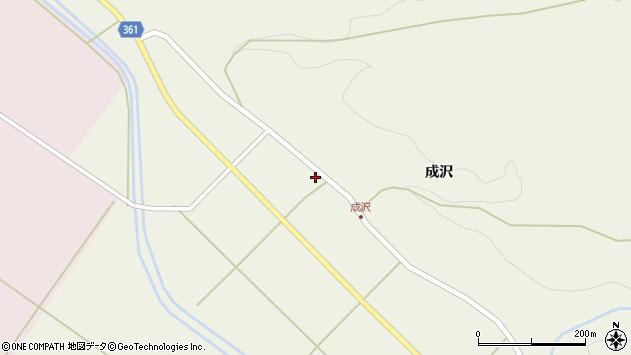 山形県酒田市成興野村下27周辺の地図