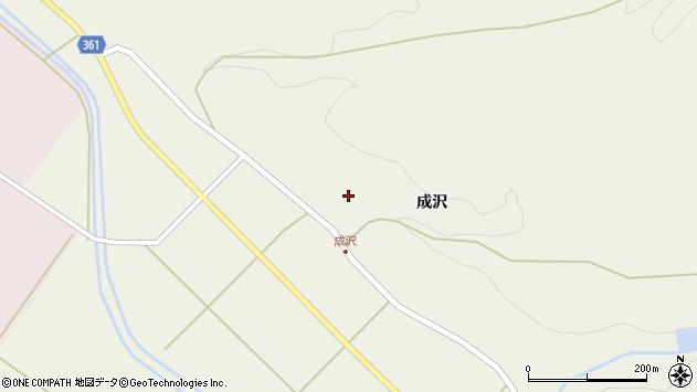 山形県酒田市成興野寺沢33周辺の地図