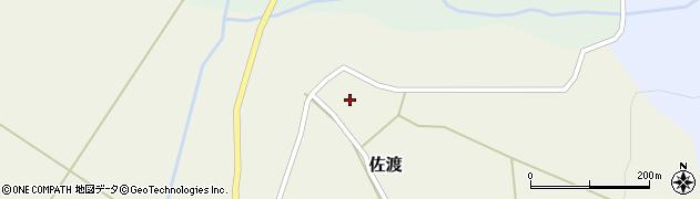 山形県最上郡鮭川村佐渡961周辺の地図