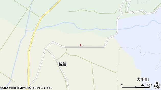 山形県最上郡鮭川村佐渡2571周辺の地図