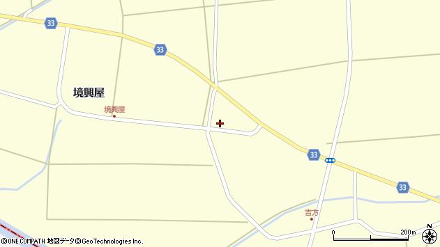 山形県東田川郡庄内町吉方中割39周辺の地図