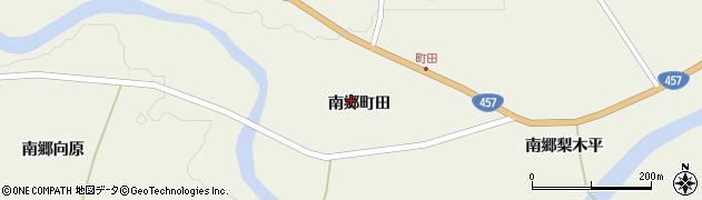 宮城県栗原市鶯沢南郷町田周辺の地図