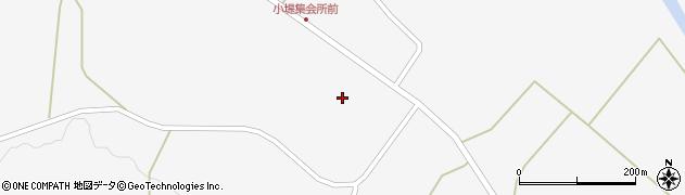 宮城県栗原市金成小堤周辺の地図