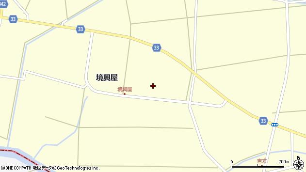 山形県東田川郡庄内町吉方中割55周辺の地図