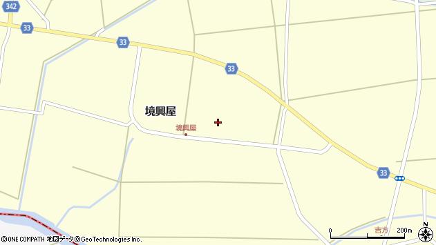 山形県東田川郡庄内町吉方中割周辺の地図