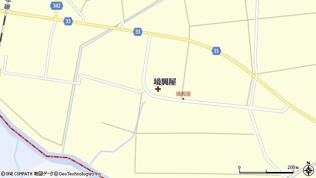 山形県東田川郡庄内町境興屋富慶5周辺の地図