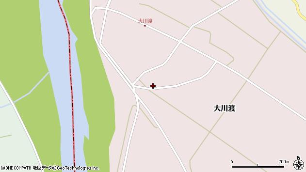 山形県酒田市大川渡五反割17周辺の地図