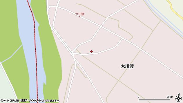 山形県酒田市大川渡五反割12周辺の地図