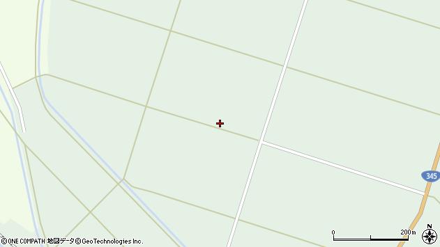 山形県東田川郡庄内町狩川一段割周辺の地図
