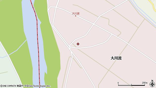 山形県酒田市大川渡五反割24周辺の地図