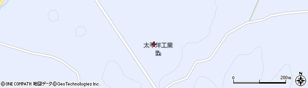 宮城県栗原市若柳武鎗生江沢周辺の地図