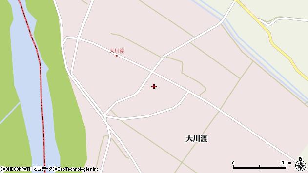 山形県酒田市大川渡五反割30周辺の地図