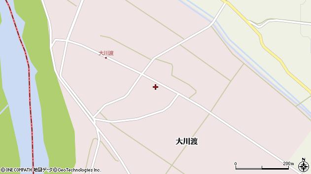 山形県酒田市大川渡五反割4周辺の地図