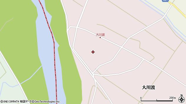 山形県酒田市大川渡五反割59周辺の地図