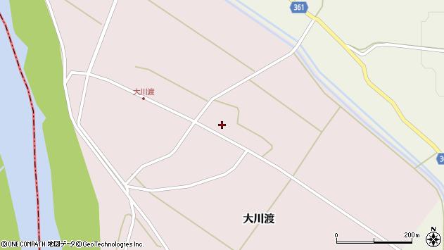 山形県酒田市大川渡五反割5周辺の地図