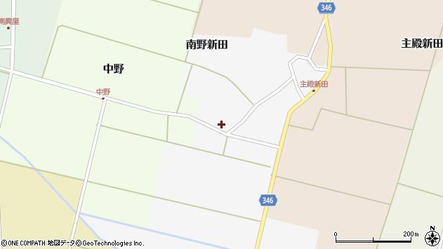 山形県東田川郡庄内町南野新田前割29周辺の地図