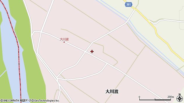 山形県酒田市大川渡五反割6周辺の地図