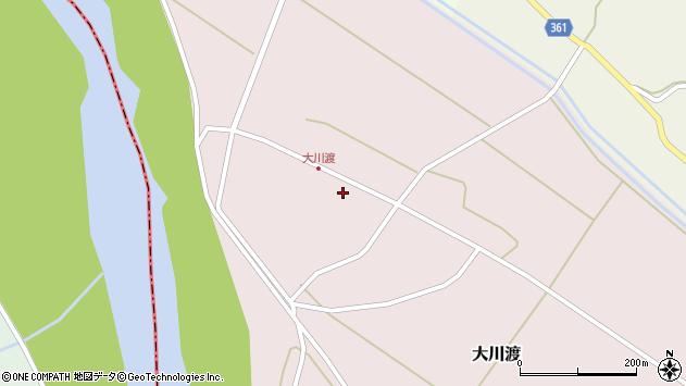 山形県酒田市大川渡五反割42周辺の地図