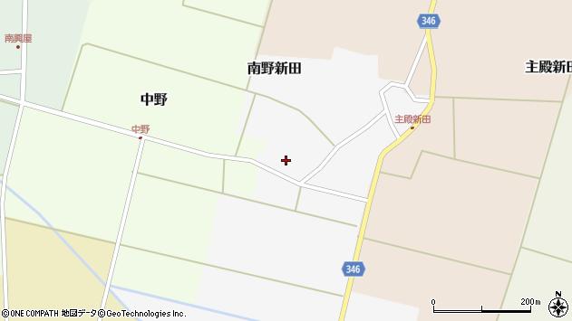 山形県東田川郡庄内町南野新田前割9周辺の地図
