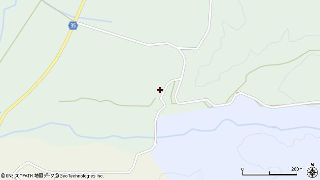 山形県最上郡鮭川村京塚2172周辺の地図