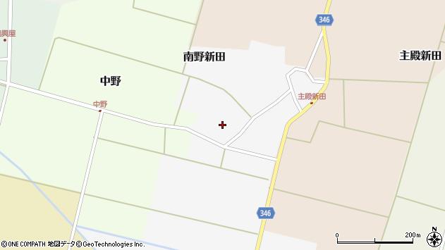 山形県東田川郡庄内町南野新田前割13周辺の地図