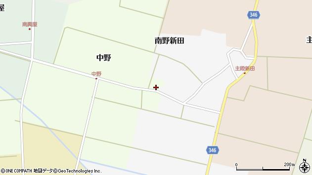 山形県東田川郡庄内町中野北割31周辺の地図