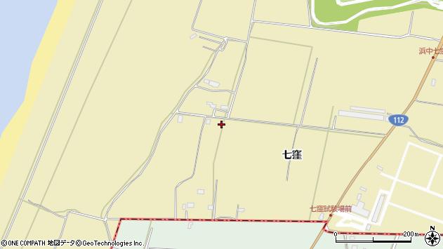 山形県酒田市浜中七窪294周辺の地図